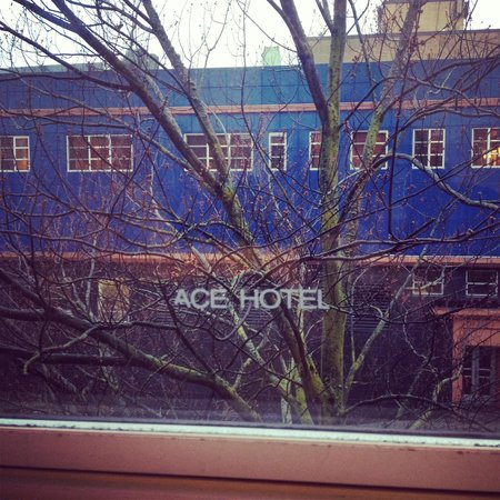 Ace Hotel: View from the window