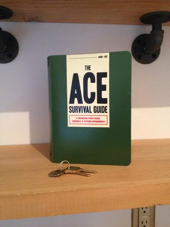 """Ace Hotel """"Survival Guide"""""""