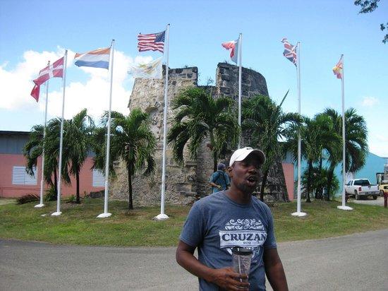 Cruzan Rum Distillery: Norman our tour guide