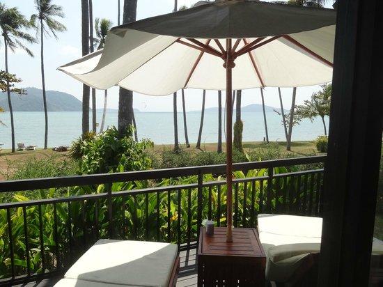 The Vijitt Resort Phuket: View from our patio