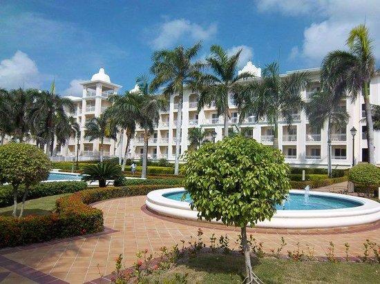 Hotel Riu Palace Punta Cana: vista desde el comedor