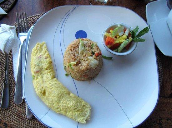 Sunset House Lombok : Indonesian Breakfast