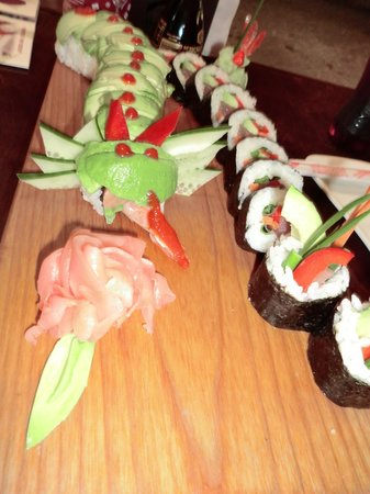 Mi Sushi : Some of the sushi rolls