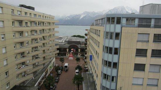 Hotel Helvetie: Top floor room view