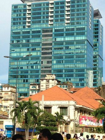 Rex Hotel : Downtown area....