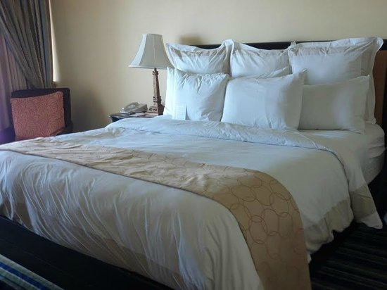 Key Largo Bay Marriott Beach Resort: Comfortable Bedding
