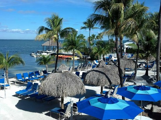 Key Largo Bay Marriott Beach Resort: Balcony View