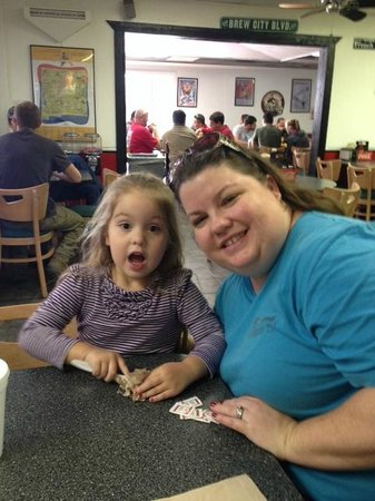 Hall of Flame Burgers: Happy Customers