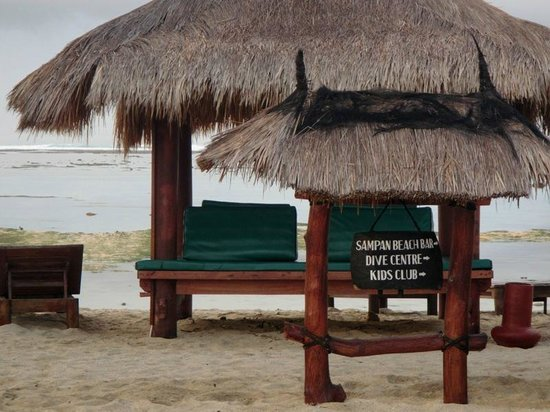 Novotel Lombok : Beach Pergola