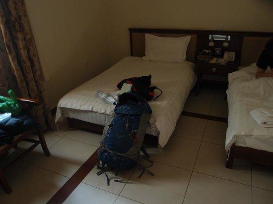 Diamond Hotel : ベッド
