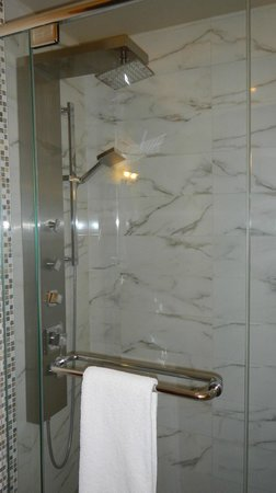 Auberge du Vieux-Port : Room 304, Bathroom Shower