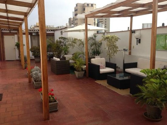 Inka Frog Exclusive: The pleasant terrace