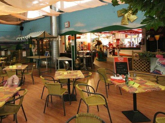 Indoorspielplatz Heidewitzka: Gastronomie