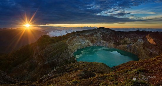Kelimutu Crater Lakes Eco Lodge, Moni, Flores: Kelimutu Craters - Flores