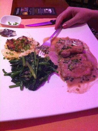 Casa Pascal : Discovery menu main douse (pork loin cooked table side)