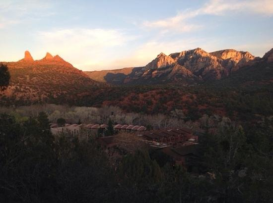 The Orchards Inn of Sedona: from the balcony
