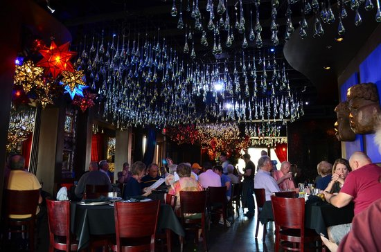 Elvira's: Magical ceiling