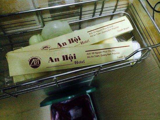 An Hoi Hotel : Принадлежности