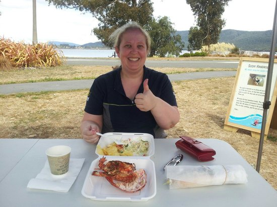 Fiordland Food Cart : Most Te Anau workers get 1hr lunch break!  Lucky...