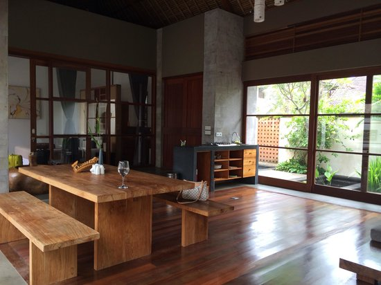 Luwak Ubud Villas: Living room