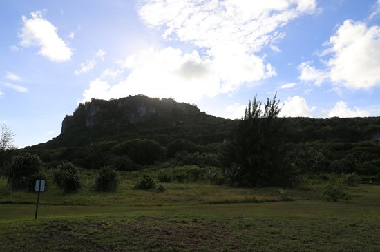 Ritidian Point: There is a trail that you can trek to this mountain head