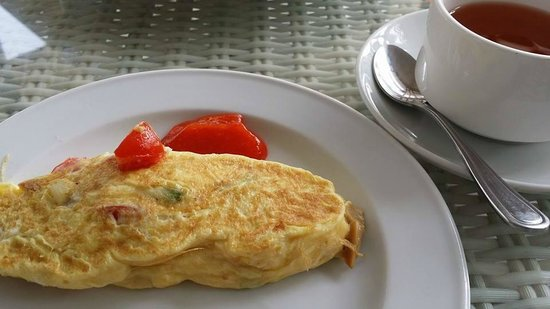 Turi Beach Resort : delicious omelette