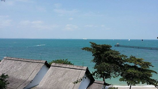 Turi Beach Resort : nice sea view from room