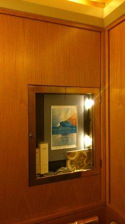 Pullman Fontana Stuttgart: Ad cabinet in lift