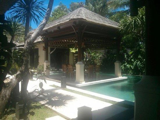 Pat-Mase, Villas at Jimbaran : View from inside the villa