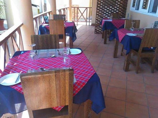 Zanzibar Ocean Blue: the sea view restaurant