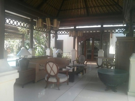 Pat-Mase, Villas at Jimbaran : Living room in the villa