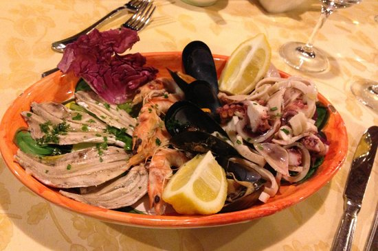 Holidays Fico d'India: Fresh seafood