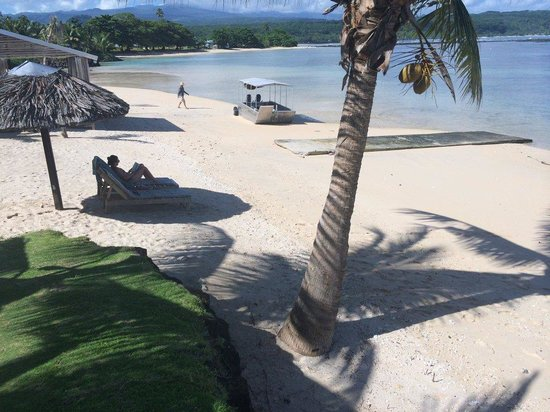 Savaii Lagoon Resort: Beach