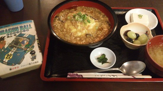 O' Cha Cha Japanese Dining &Tea: Lunch Special 天津飯