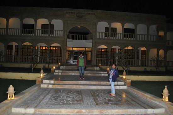 View Of Swimming Pool Picture Of Club Mahindra Jaisalmer Jaisalmer Tripadvisor