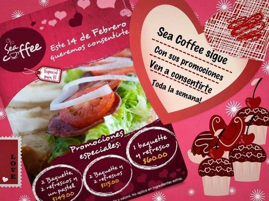 Sea Coffee Loreto: Promociones