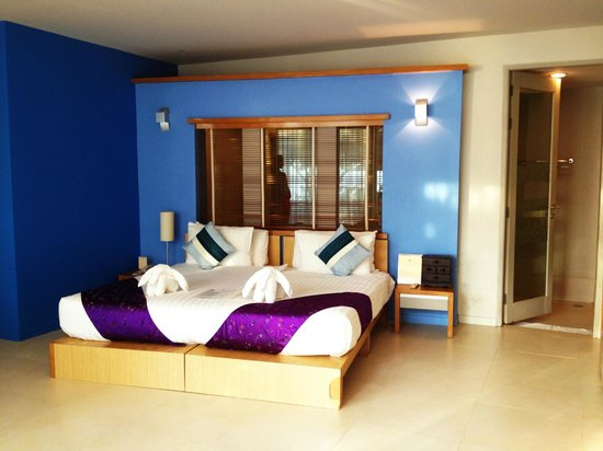 Maya Koh Lanta Resort : View of room upon entering