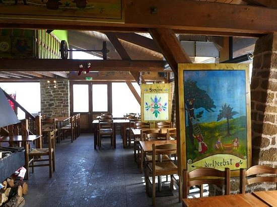 Hotel Club du Soleil Les Bergers : Le restaurant d'altitude