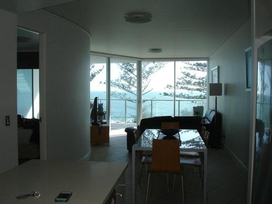 Manta Bargara Resort : View from kitchen