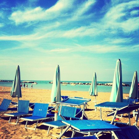 Hotel Lido : Пляж