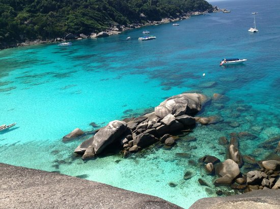 Similan Islands: Magici colori