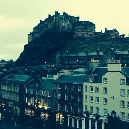 Apex Grassmarket Hotel: view from my room