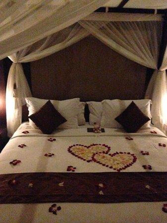 Bhavana Private Villas: the bedroom