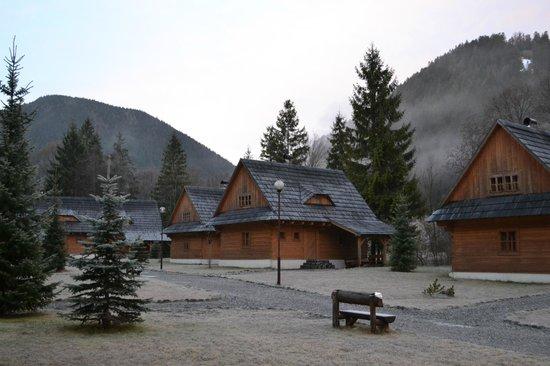 Hotel Liptovsky Dvor: Индивидуальные котеджи