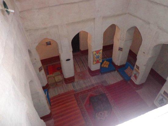 Auberge Chez Yacob : vue sur le patio