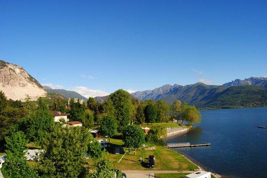 Hotel Rigoli : view of camp ground next to hotel