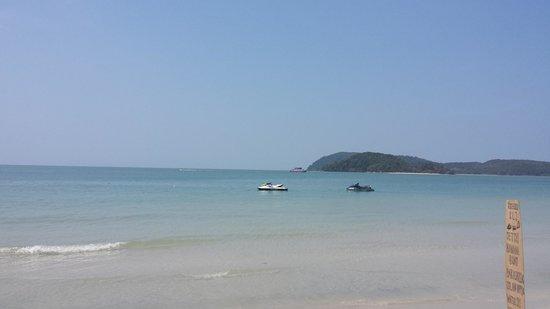 Cenang Beach : Beach View