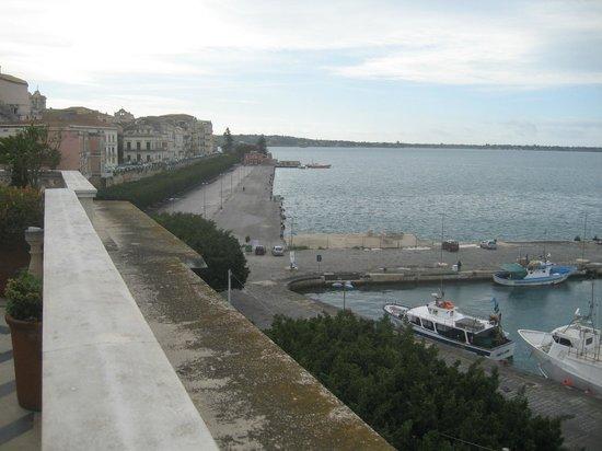 Grand Hotel Ortigia: vista dalla terrazza