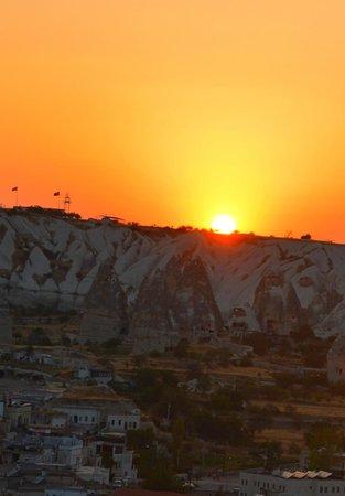 Pilot Inn: Goreme sunset wonderful