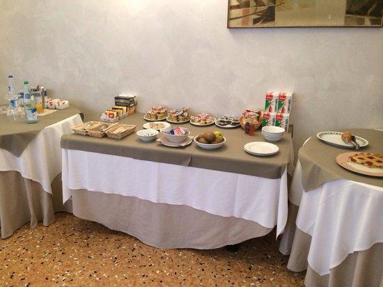 Hotel Ristorante Cima: La colazione dell'albergo